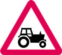Farm Traffic Ahead